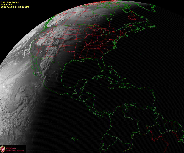 Current Satellite Images Department Of Atmospheric And Oceanic - Current satellite image of world
